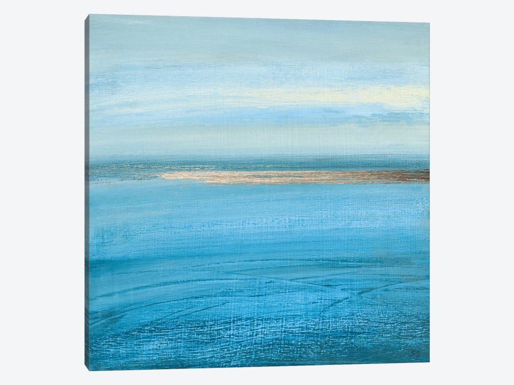 Ocean Currents I by Susan Jill 1-piece Canvas Artwork