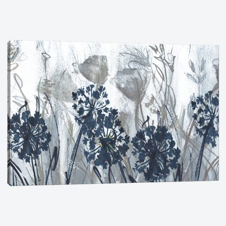 Indigo Field Canvas Print #SUS29} by Susan Jill Canvas Art Print