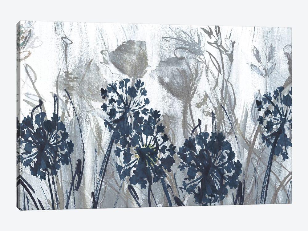 Indigo Field by Susan Jill 1-piece Canvas Artwork