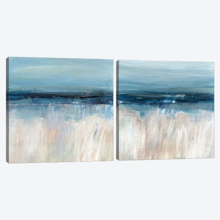 On The Severn Diptych Canvas Print Set #SUS2HSET004} by Susan Jill Canvas Wall Art