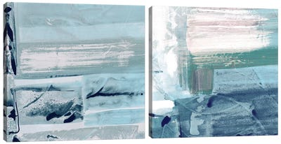 Miss The Sea Diptych II Canvas Art Print