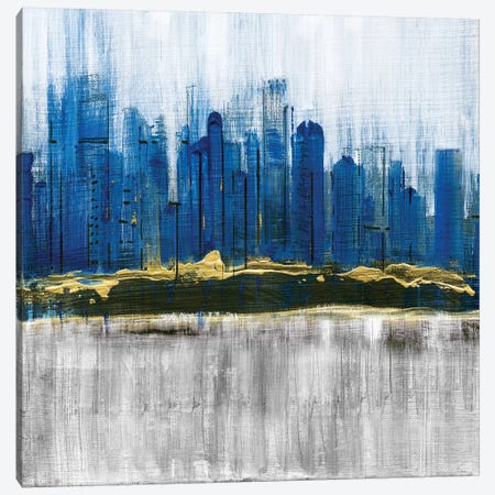 Sapphire City 3-Piece Canvas #SUS36} by Susan Jill Art Print