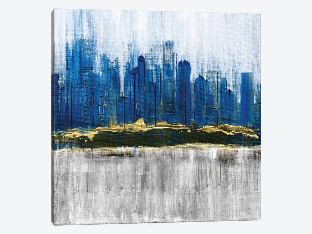 Sapphire City by Susan Jill 1-piece Canvas Art