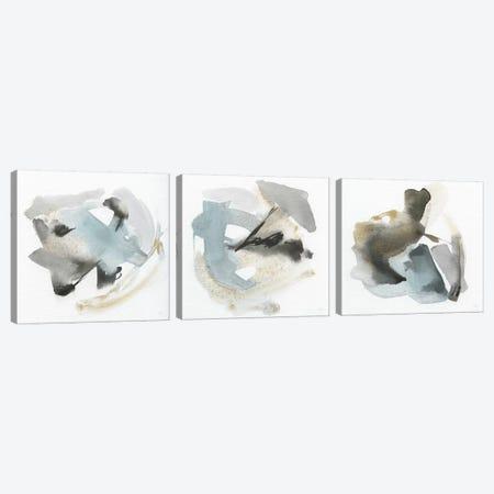 Sand & Sky Triptych Canvas Print Set #SUS3HSET001} by Susan Jill Canvas Art Print