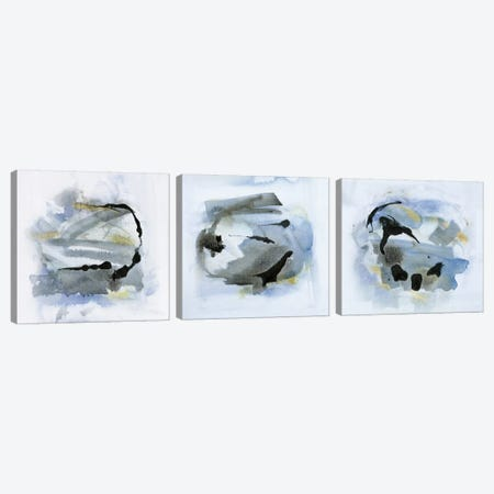 Cool Water Triptych Canvas Print Set #SUS3HSET003} by Susan Jill Art Print