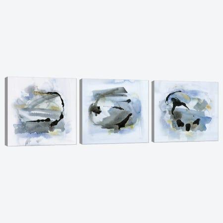 Cool Water Triptych Canvas Print Set #SUS3HSET003} by Susan Jill Art Print