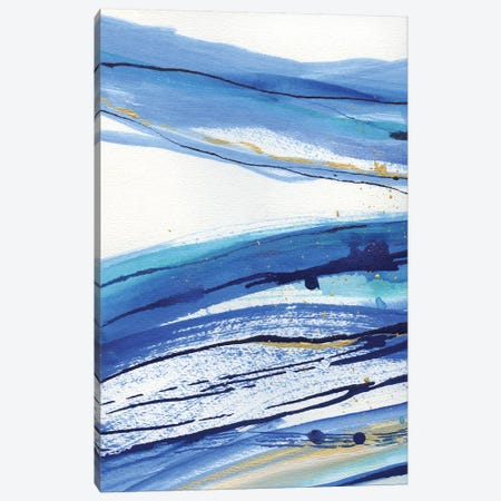 Waterfall I Canvas Print #SUS66} by Susan Jill Canvas Wall Art