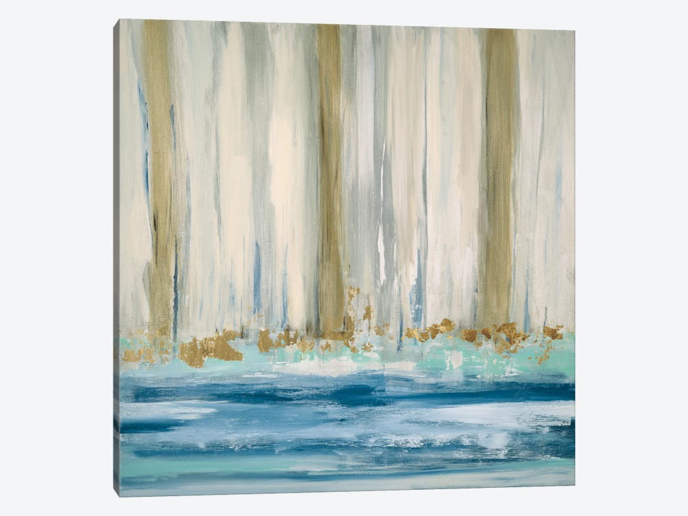 Mountain Water II by Susan Jill 1-piece Canvas Wall Art