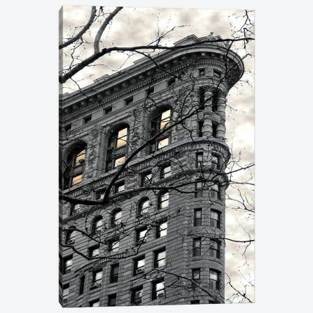 Flatiron Building Canvas Print #SUS80} by Susan Jill Art Print