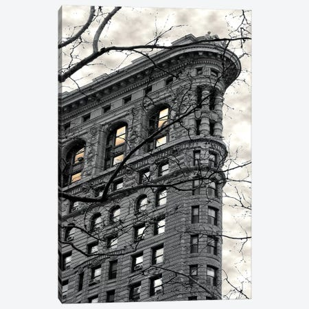 Flatiron Building Canvas Print #SUS80} by Susan Jill Art Print