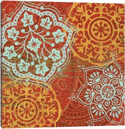 Boho Moroccan Canvas Print #SUS8