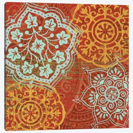 Boho Moroccan Canvas Print #SUS8} by Susan Jill Canvas Art Print