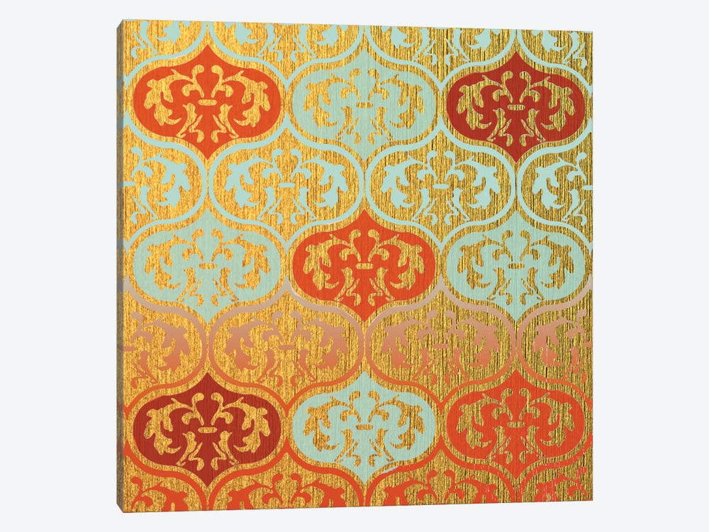 Moroccan Leaves by Susan Jill 1-piece Canvas Artwork
