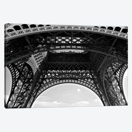 Under Eiffel Canvas Print #SUV101} by Susan Vizvary Canvas Art