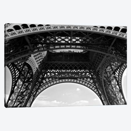 Under Eiffel Canvas Print #SUV101} by Susan Vizvary Canvas Art