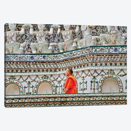 Walking Monk Canvas Print #SUV104} by Susan Vizvary Canvas Art Print