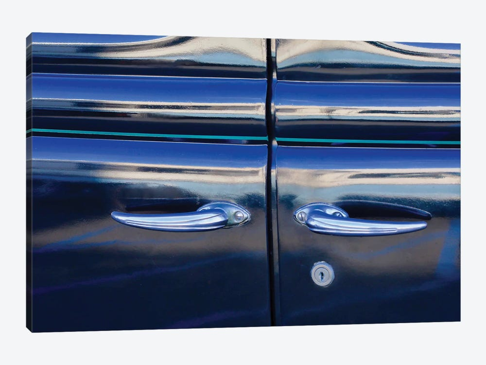 Double Door Ford by Susan Vizvary 1-piece Canvas Wall Art