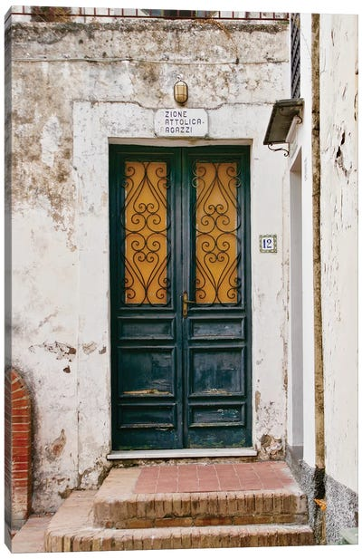 Italian Door No 12 Canvas Art Print