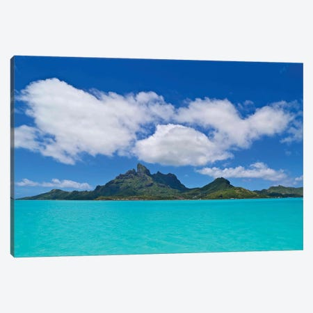 Love Over Bora Bora Canvas Print #SUV137} by Susan Vizvary Canvas Art
