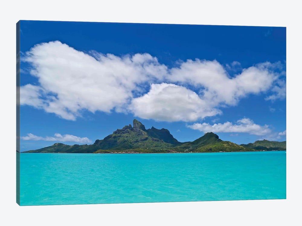 Love Over Bora Bora by Susan Vizvary 1-piece Art Print