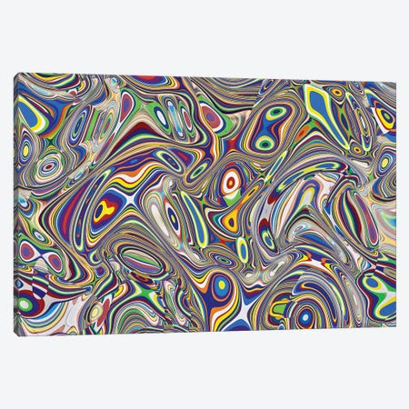 Multicolor Abstract II Canvas Print #SUV144} by Susan Vizvary Canvas Print