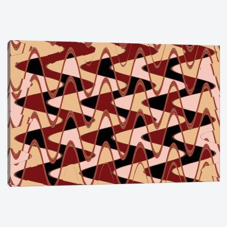 Red Barn IV Canvas Print #SUV151} by Susan Vizvary Canvas Print