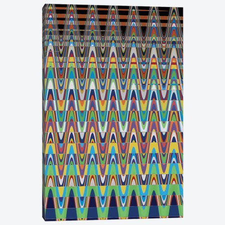 Vertical Carpet X Canvas Print #SUV159} by Susan Vizvary Canvas Print
