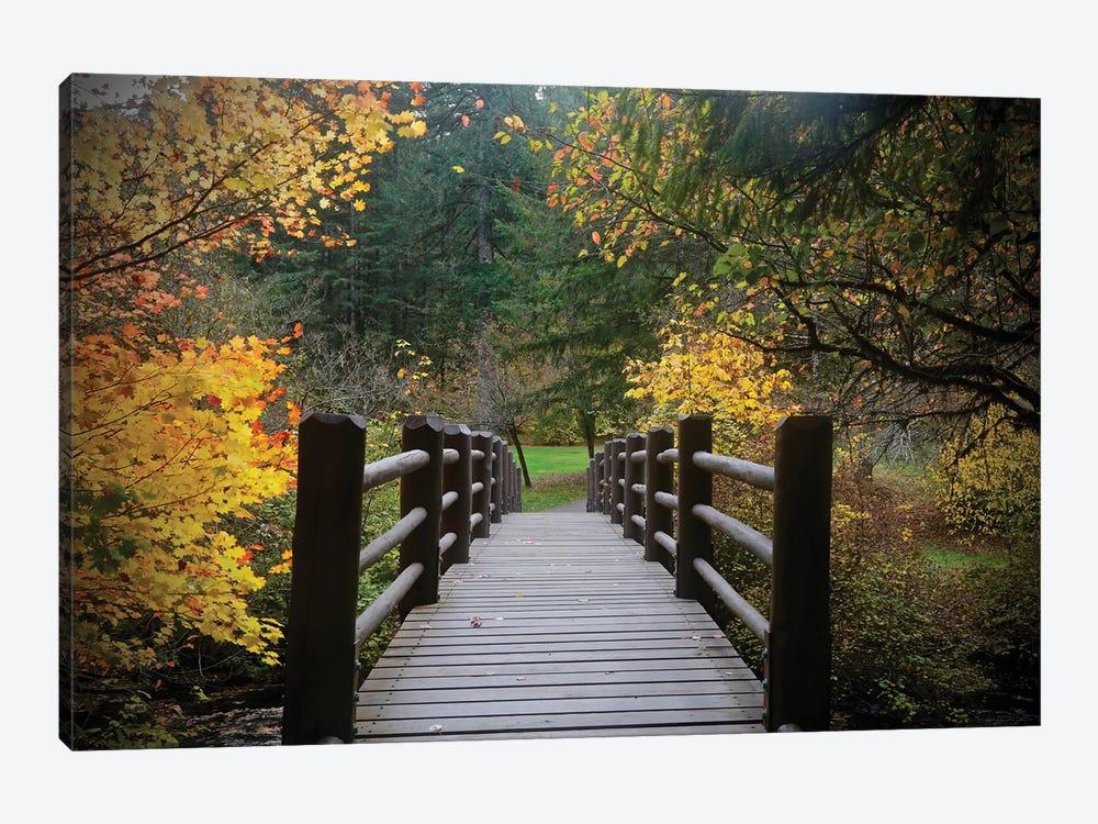 Autumn's Bridge I by Susan Vizvary 1-piece Art Print