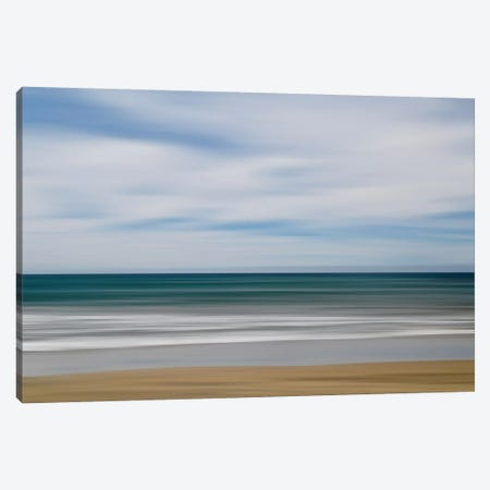 Big Sur Ocean Blur I Canvas Print #SUV173} by Susan Vizvary Canvas Print