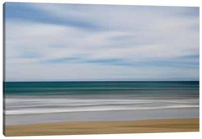 Big Sur Ocean Blur I Canvas Art Print