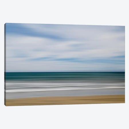 Big Sur Ocean Blur I Canvas Print #SUV173} by Susan Vizvary Canvas Print