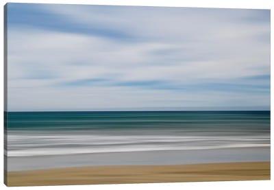 Big Sur Ocean Blur I Canvas Art Print