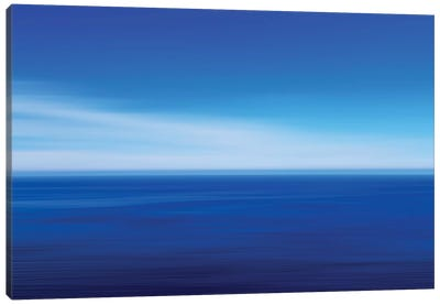 Big Sur Ocean Blur II Canvas Art Print