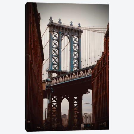 Brooklyn Bridge In Color Canvas Print #SUV176} by Susan Vizvary Canvas Art