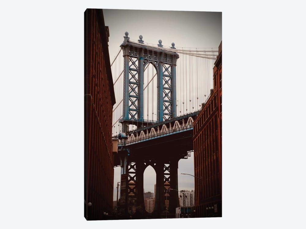 Brooklyn Bridge In Color by Susan Vizvary 1-piece Canvas Artwork