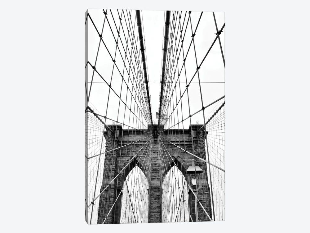 Brooklyn Bridge With Flag I by Susan Vizvary 1-piece Art Print