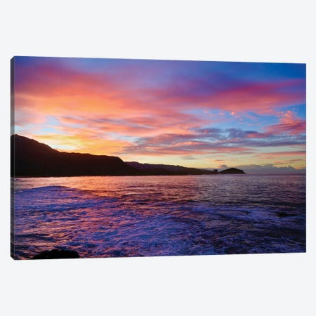 Good Morning, Hawaii Canvas Print #SUV182} by Susan Vizvary Canvas Art