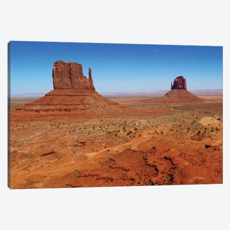 Monument Valley Gloves Canvas Print #SUV187} by Susan Vizvary Art Print