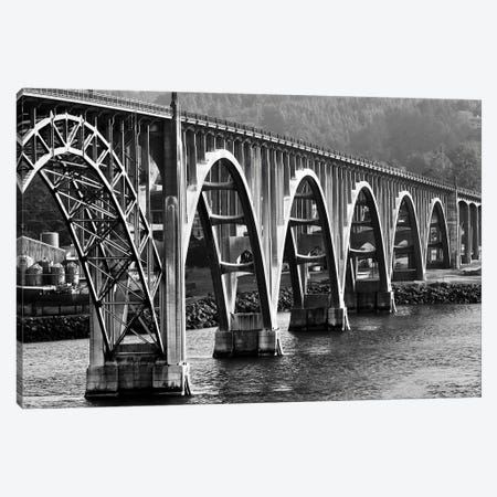 Oregon Bridge II Canvas Print #SUV190} by Susan Vizvary Art Print