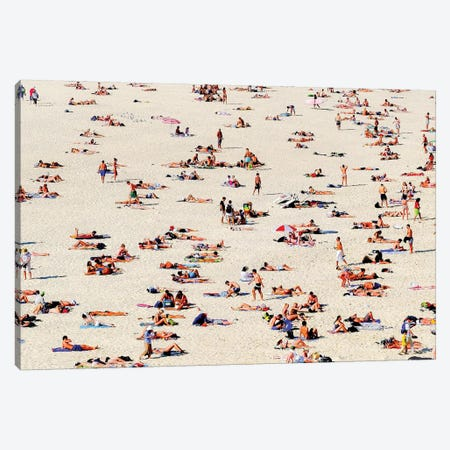 Bondi Beach Canvas Print #SUV19} by Susan Vizvary Canvas Art Print