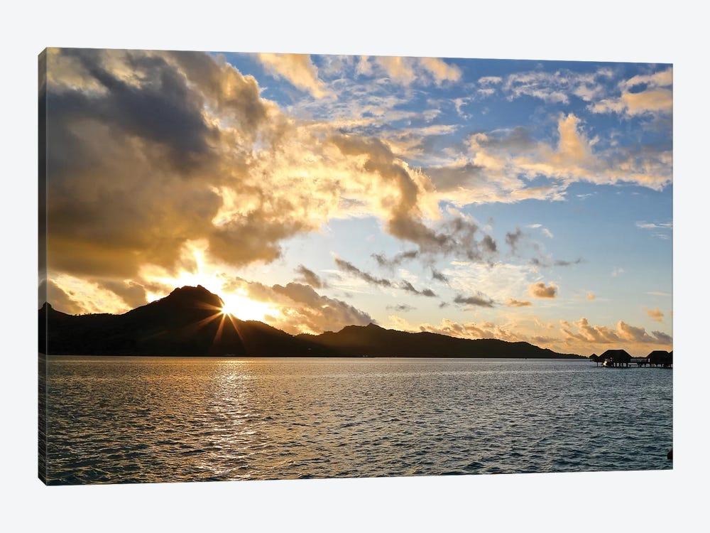Bora Bora Sunset by Susan Vizvary 1-piece Canvas Art Print
