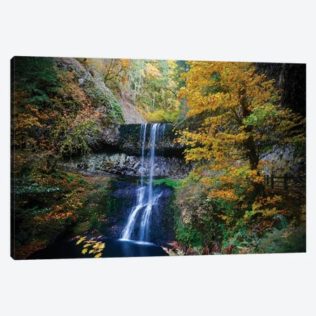 Mystical Falls III Canvas Print #SUV213} by Susan Vizvary Canvas Artwork