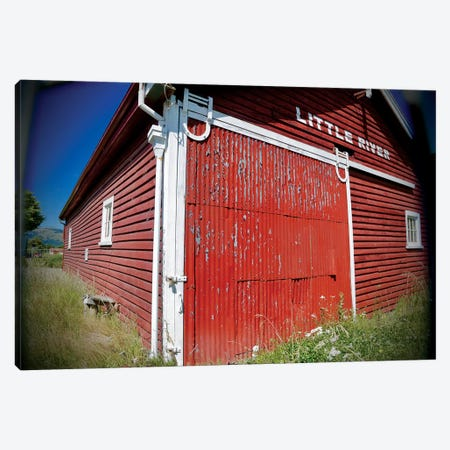 Little River Barn Canvas Print #SUV221} by Susan Vizvary Art Print