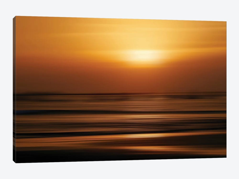 Blurred Sunset by Susan Vizvary 1-piece Art Print