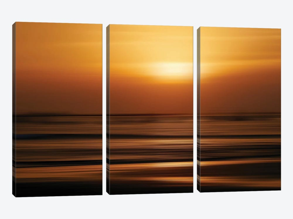 Blurred Sunset by Susan Vizvary 3-piece Art Print