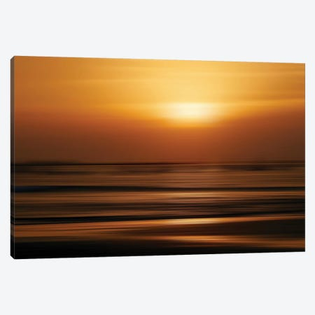 Blurred Sunset Canvas Print #SUV233} by Susan Vizvary Canvas Artwork