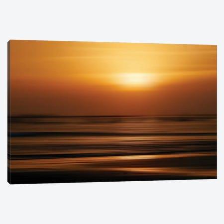 Blurred Sunset Canvas Print #SUV233} by Susan Vizvary Canvas Artwork