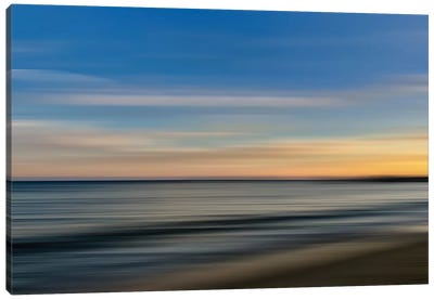Malibu Shoreblur Canvas Art Print