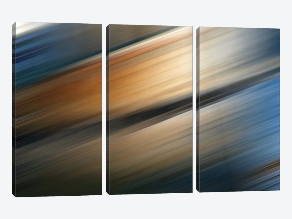 Point Reyes Boat III by Susan Vizvary 3-piece Canvas Wall Art