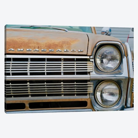 Ambassador Front Grill Canvas Print #SUV244} by Susan Vizvary Canvas Art